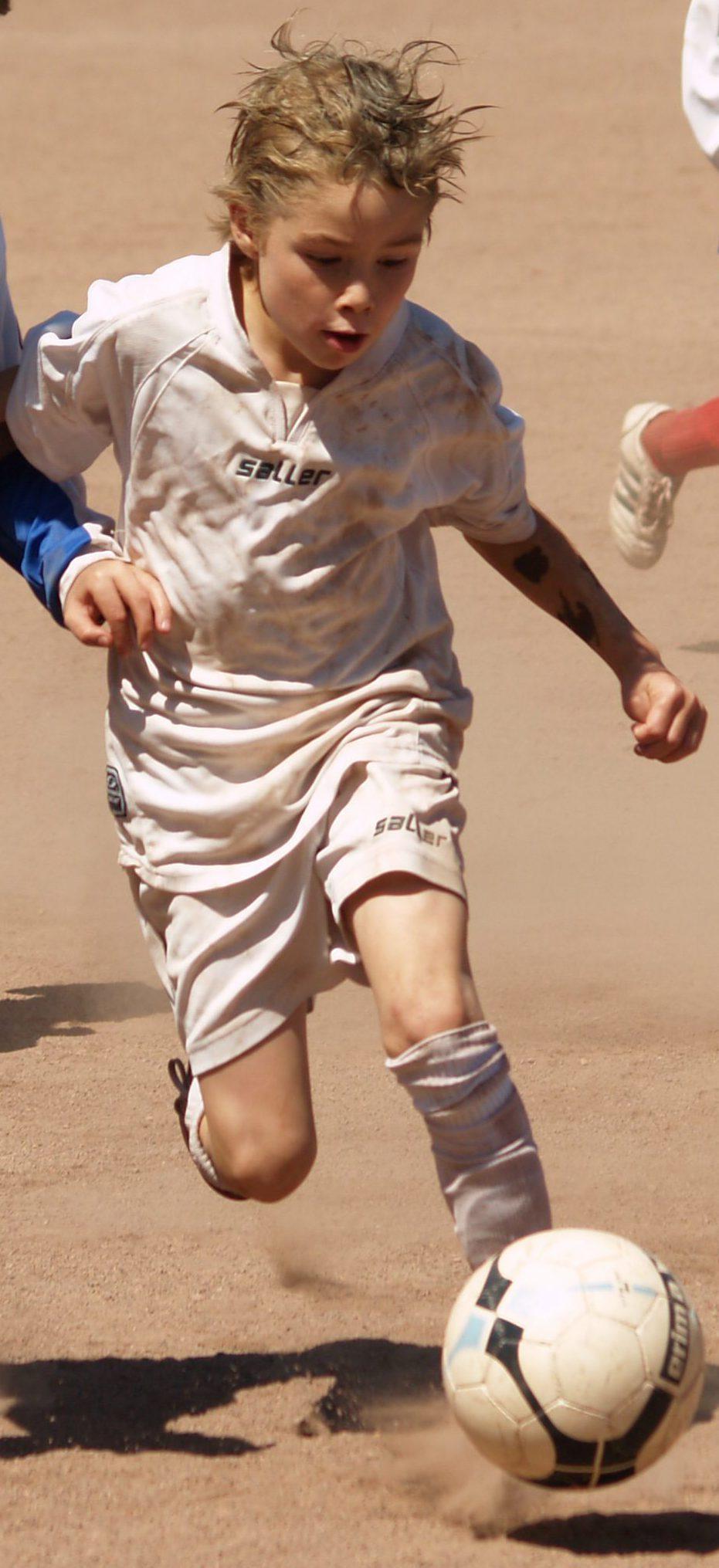 der kleine, unaufhalsame David beim HEBC-Turnier 2009 - stets in der Vorwärtsbewegung